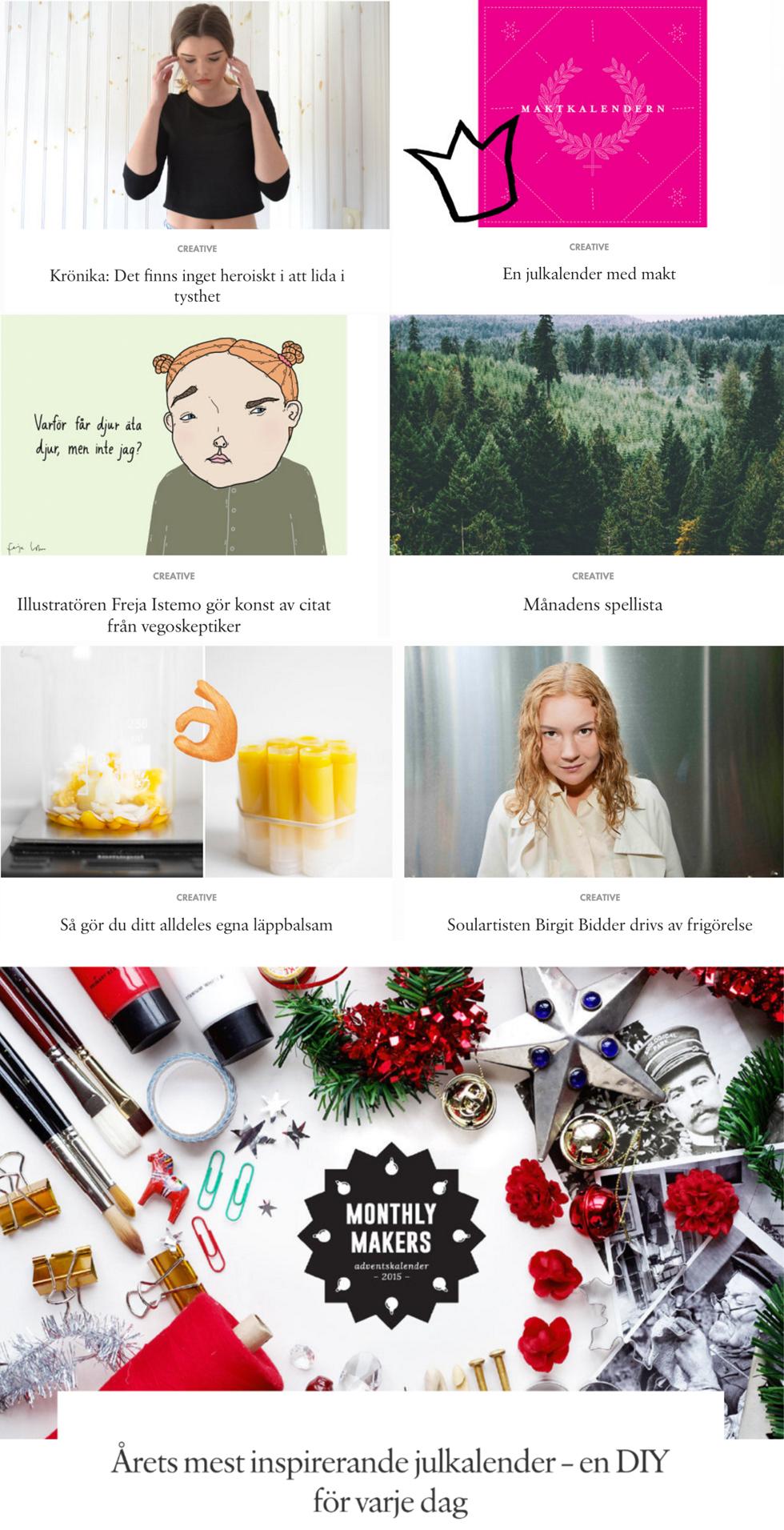 creative december