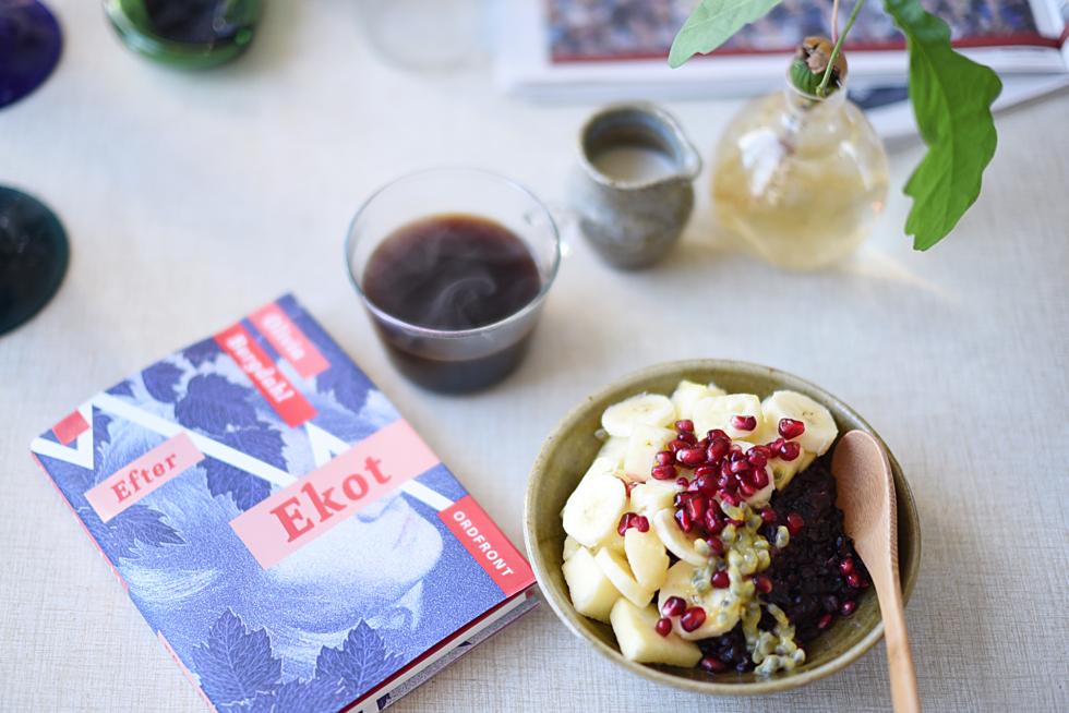 Svartrisgröt / black rice porridge - flora.metromode.se, @florawis