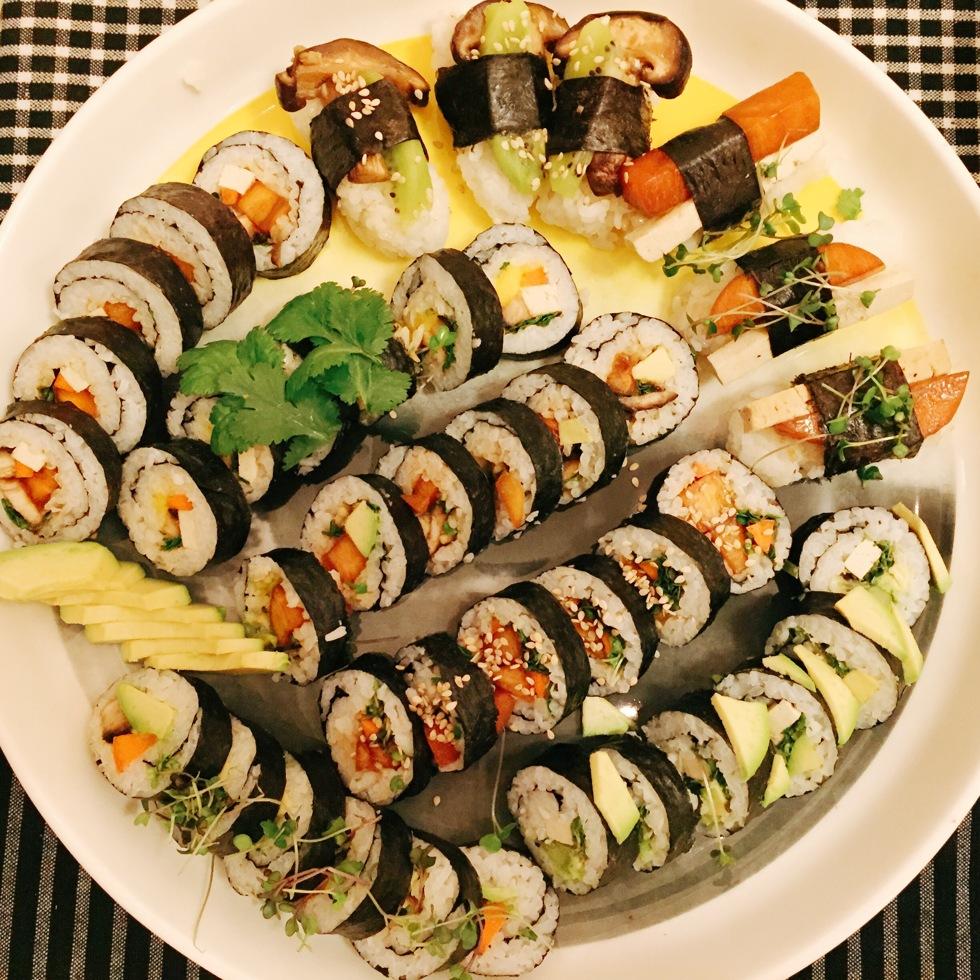 Vegansk sushi - flora.metromode.se