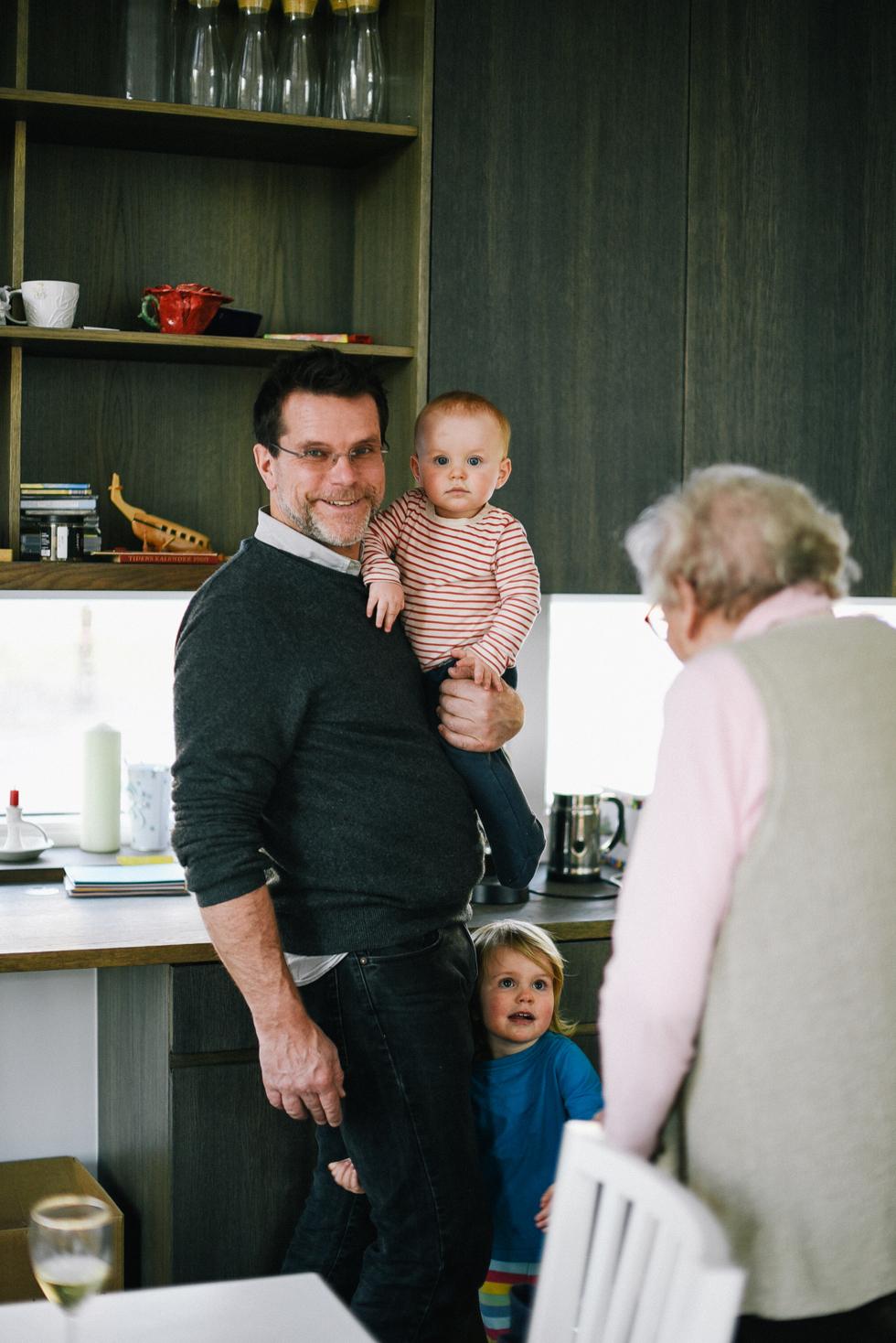 Magnus, Sander, Eloise, Barbro