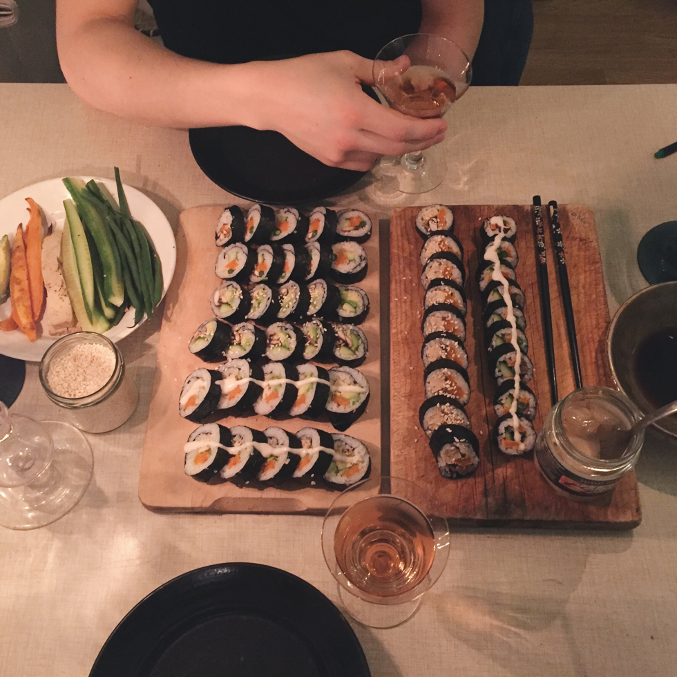 Vegan Sushi - flora.metromode.se