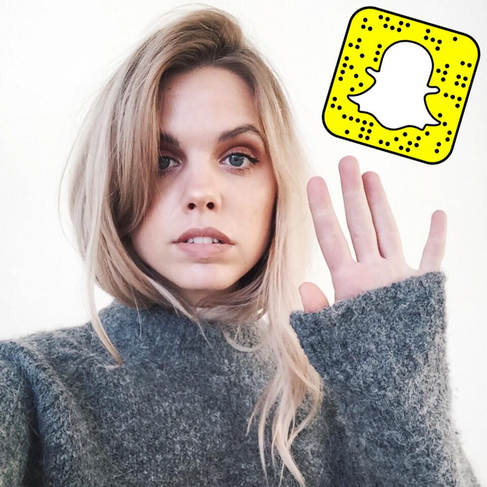 Snapchat florawistrom