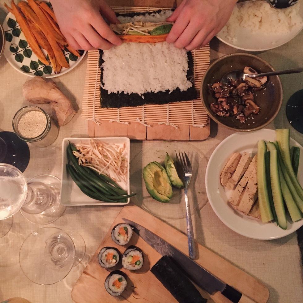 Vegan Sushi, Flora Wiström, florasblogg.se, @florawis