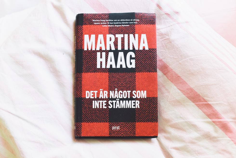 DET ÄR NÅGOT SOM INTE STÄMMER  Martina Haag