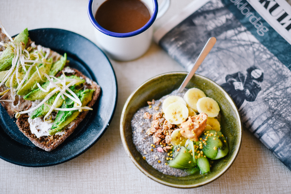 Vegan breakfast - Flora Wiström, florasblogg.se, @florawis