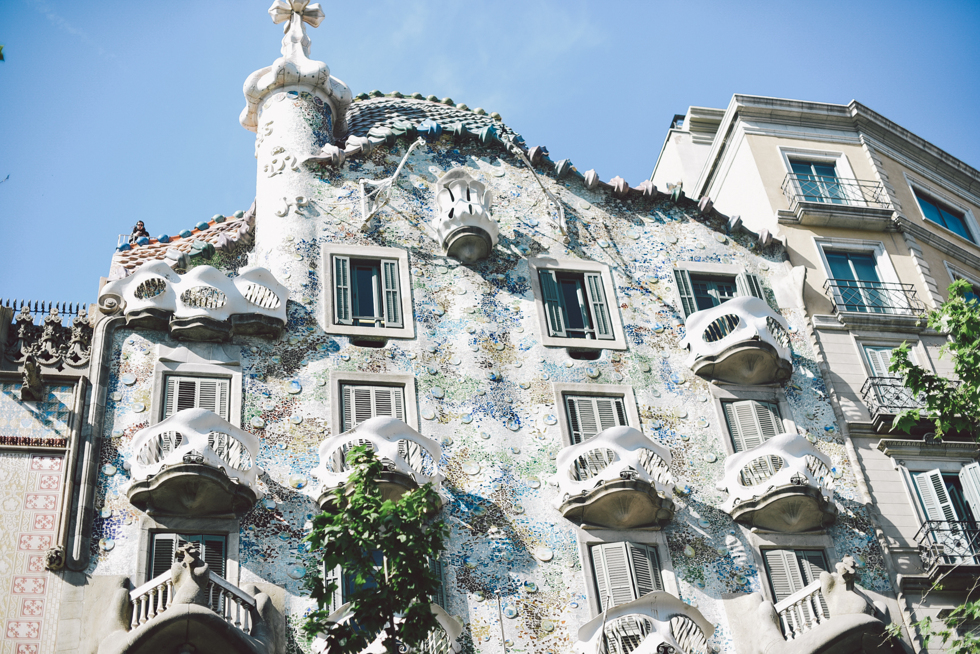 Casa Batlló by Gaudí, florasblogg.se, @florawis