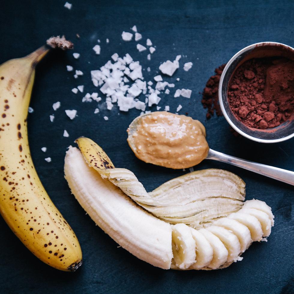 Banana ice cream - florasblogg.se, @florawis
