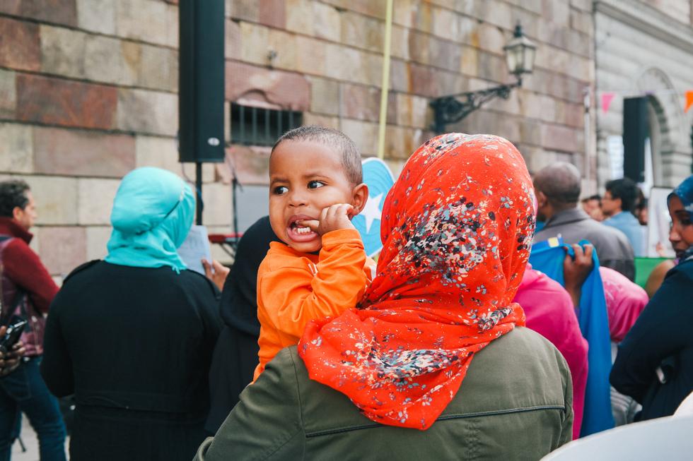 demonstration folkkampanj för asylrätt-16