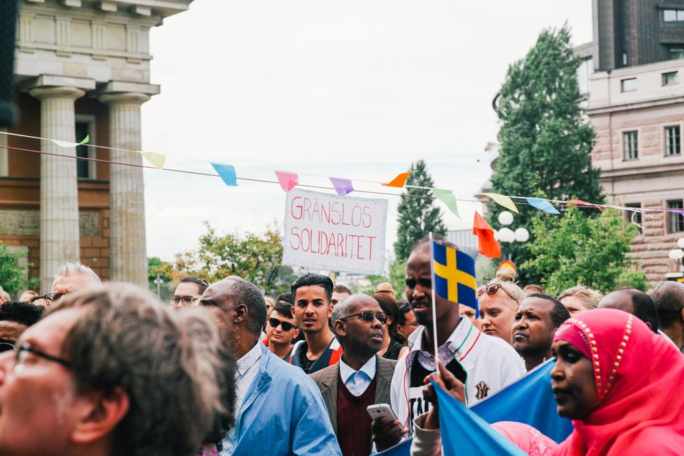 demonstration folkkampanj för asylrätt-5