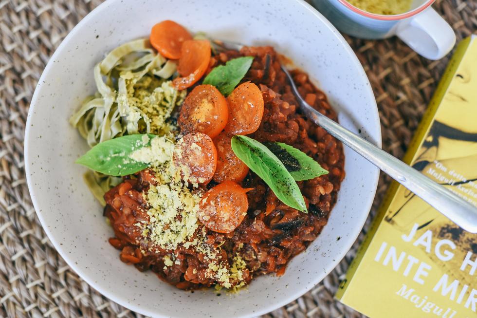 pasta med linsfärssås flora wiström -2s