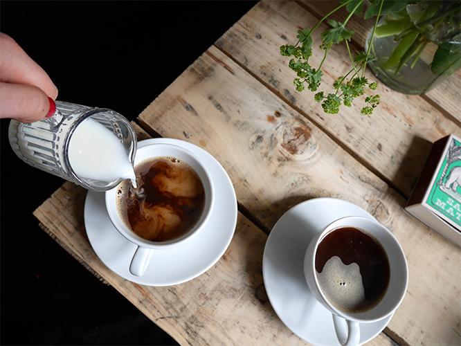 Fanny Ekstrand - kaffe med mjölk