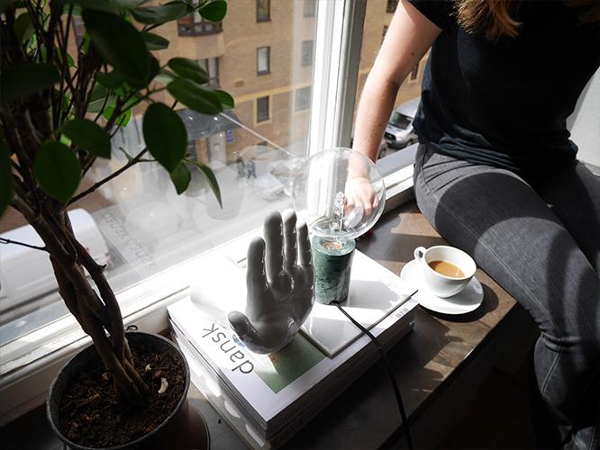 Fanny Ekstrand - kaffe på södermalm