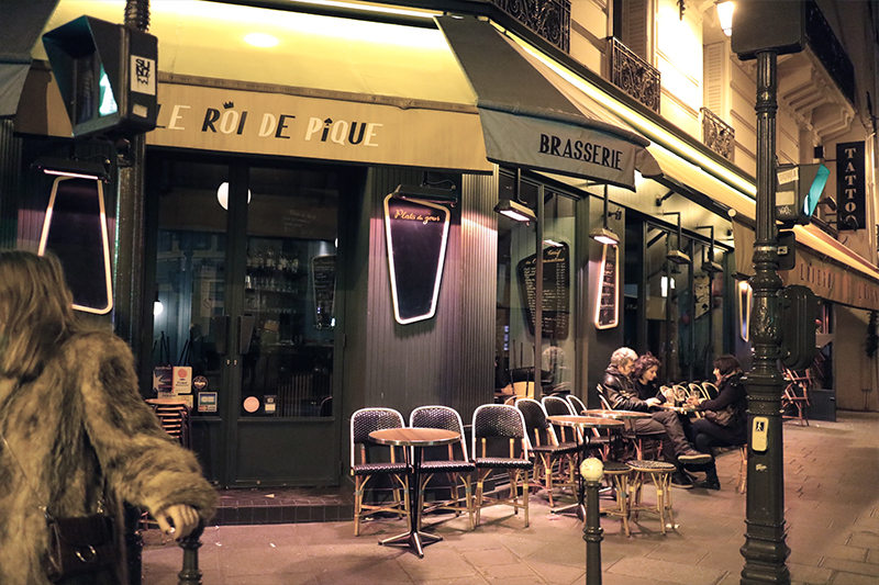 Brasserie Marais Paris
