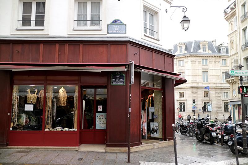 Hitta vintage Marais Paris