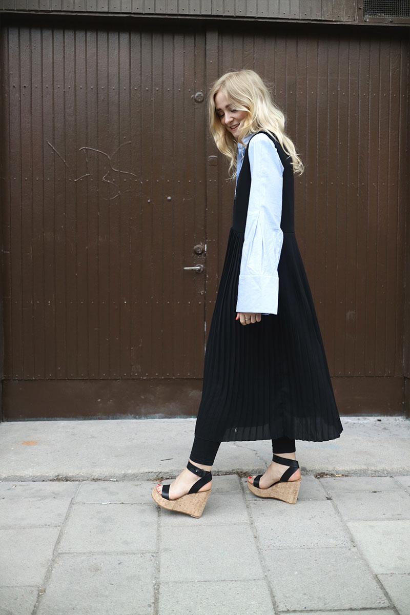 Fanny Ekstrand Shirt Under Dress