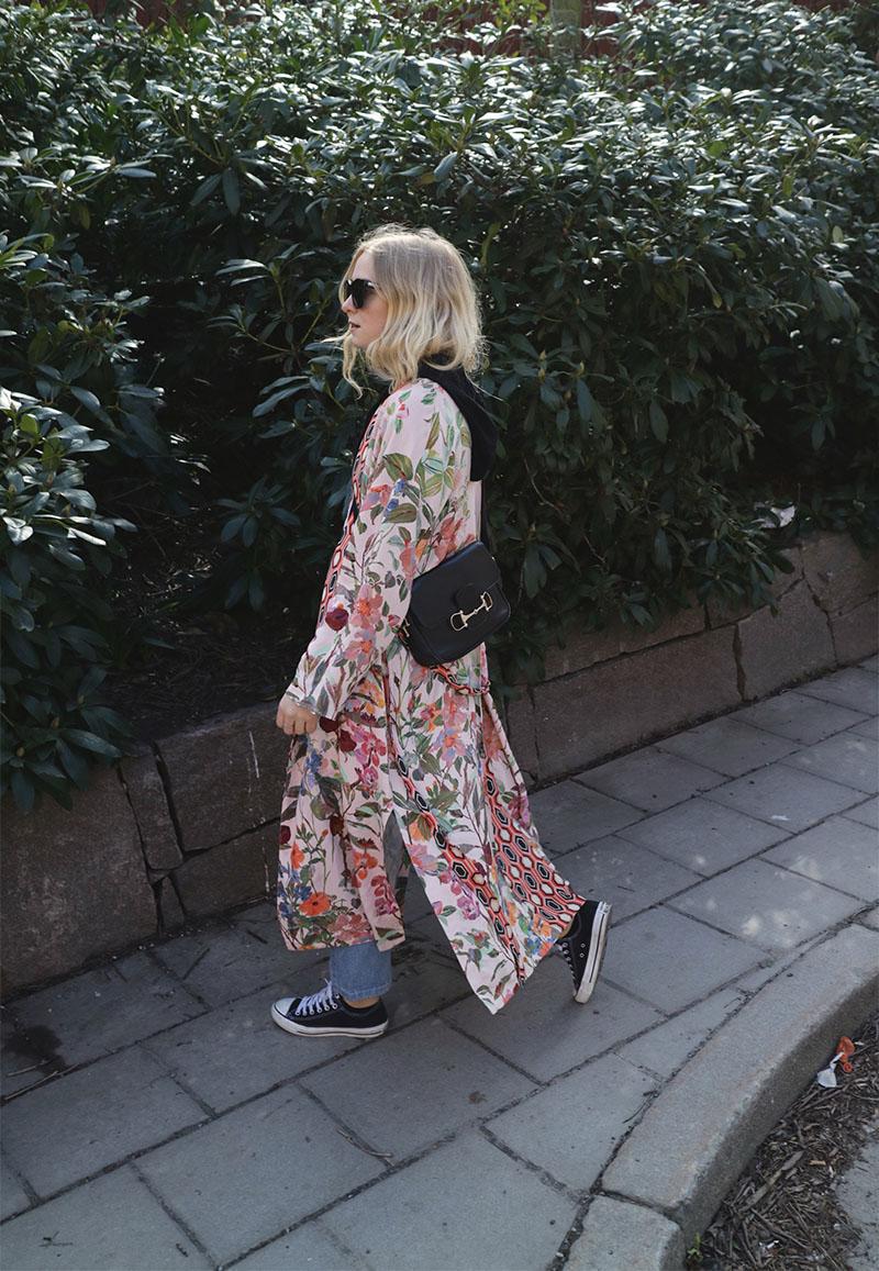 Fanny Ekstrand outfit Kimono H&M Trend