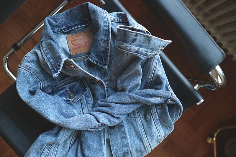 Levis sherpa jeans jacka