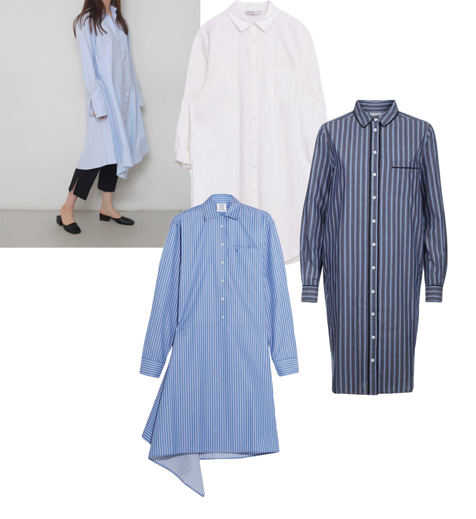 Shirt dress for spring 2016