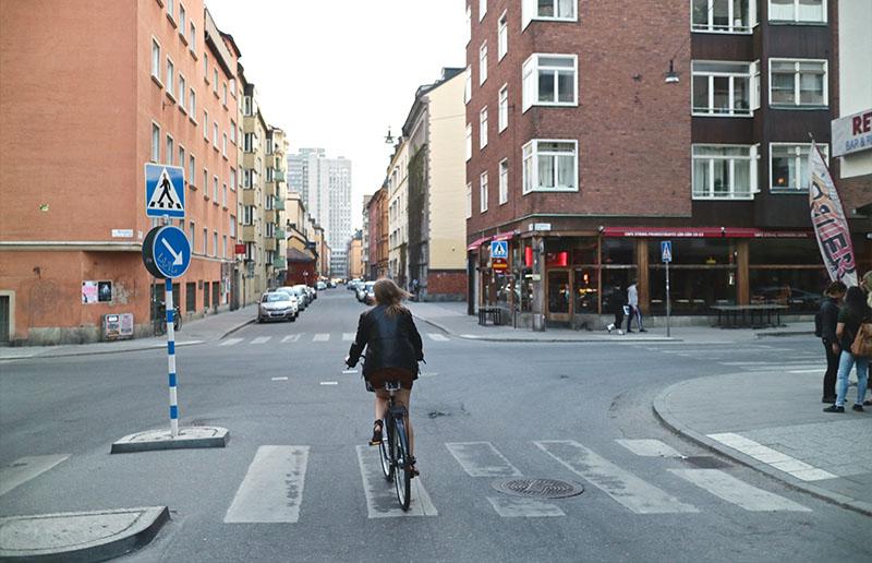 Cykla på Södermalm