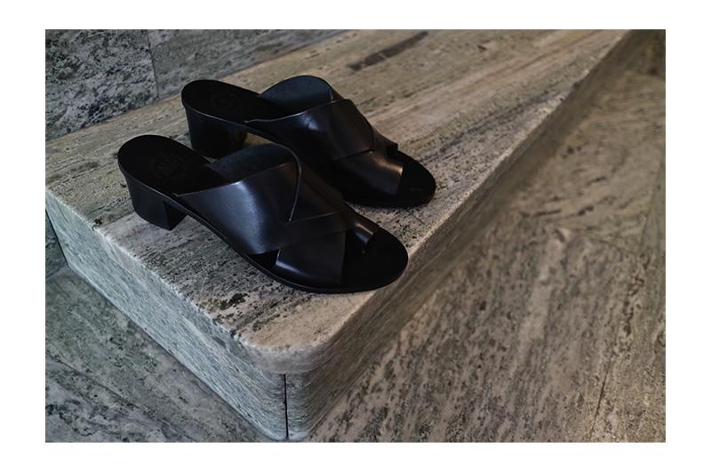 Sandal med klack ATP Atelier