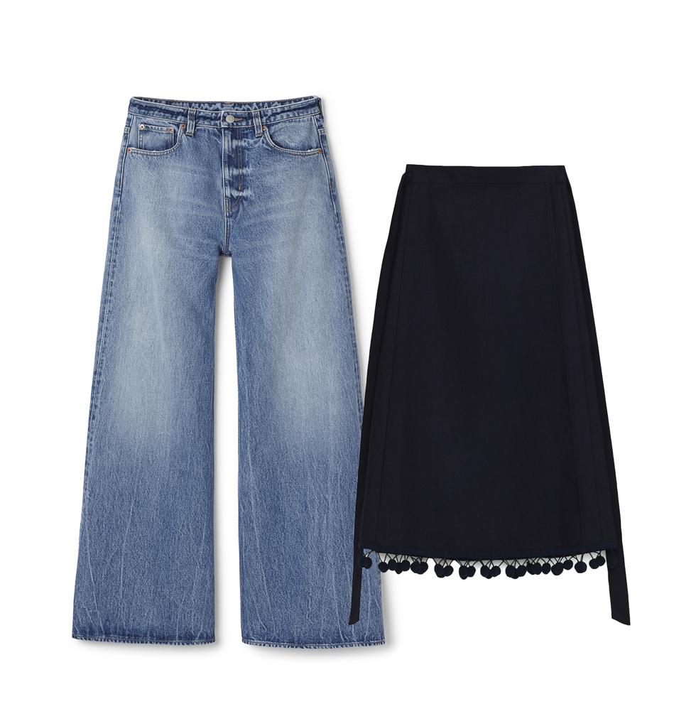 Kjol jeans