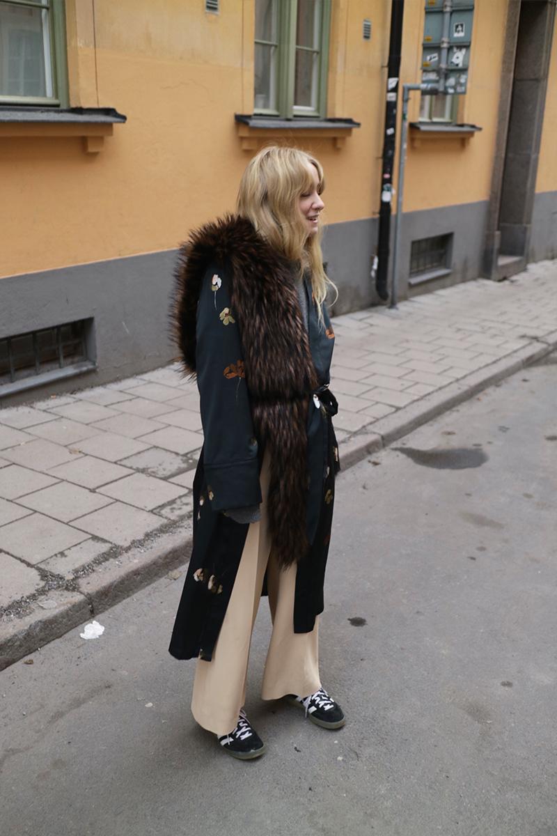 Fanny Ekstrand Kimono Robe Outfit