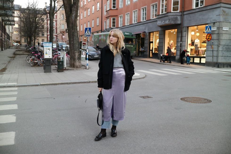 Fanny Ekstrand Skirt over Jeans