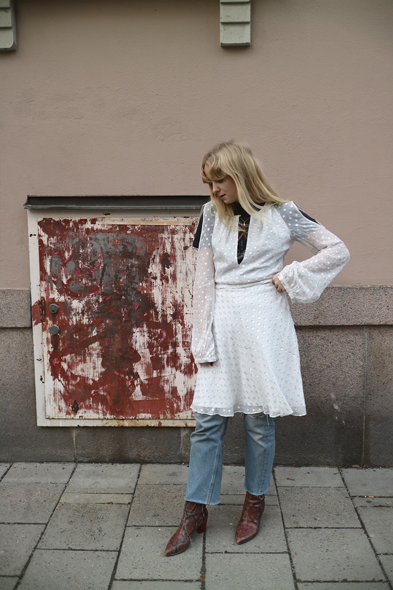 Fanny Ekstrand White Dress