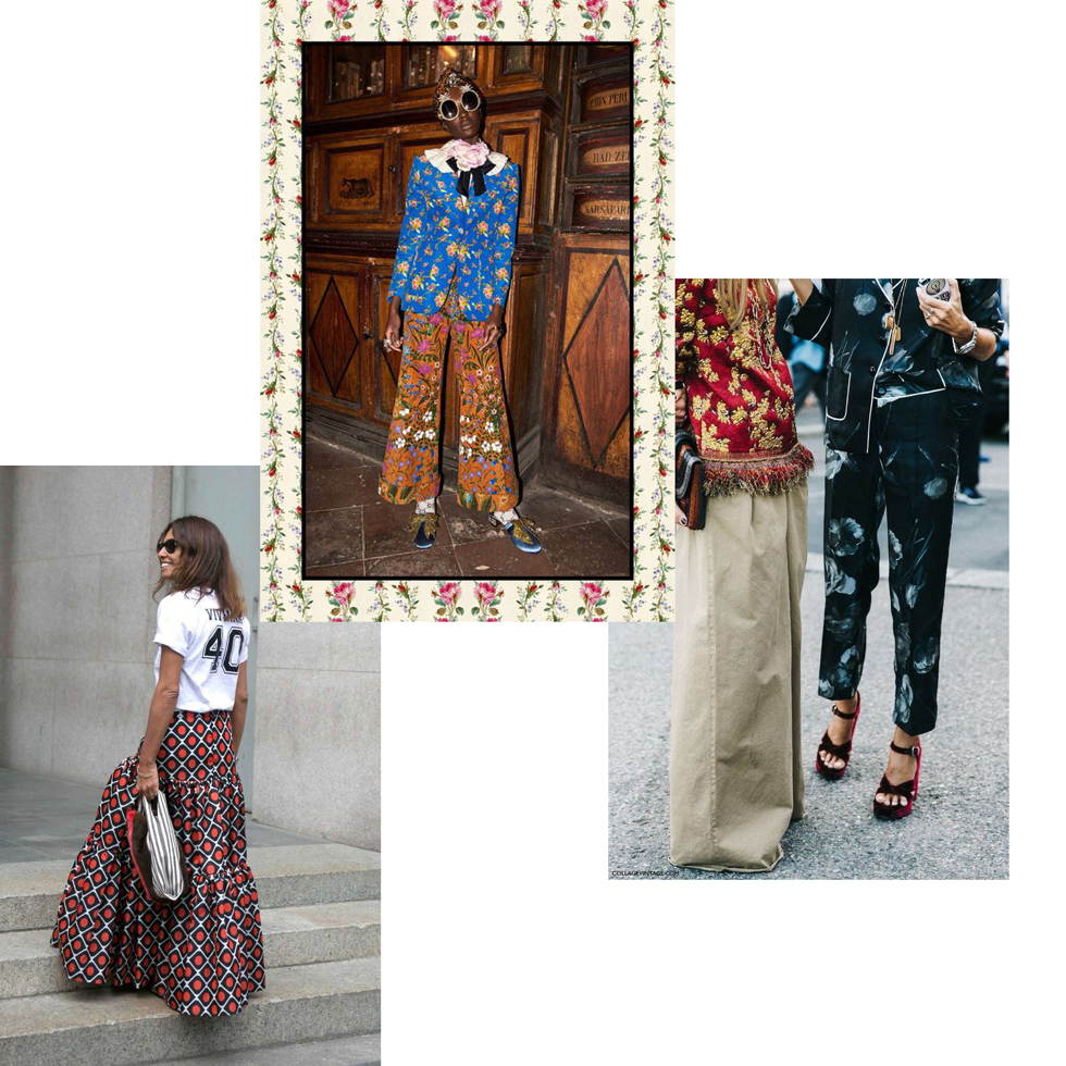 Trend patterns mixing