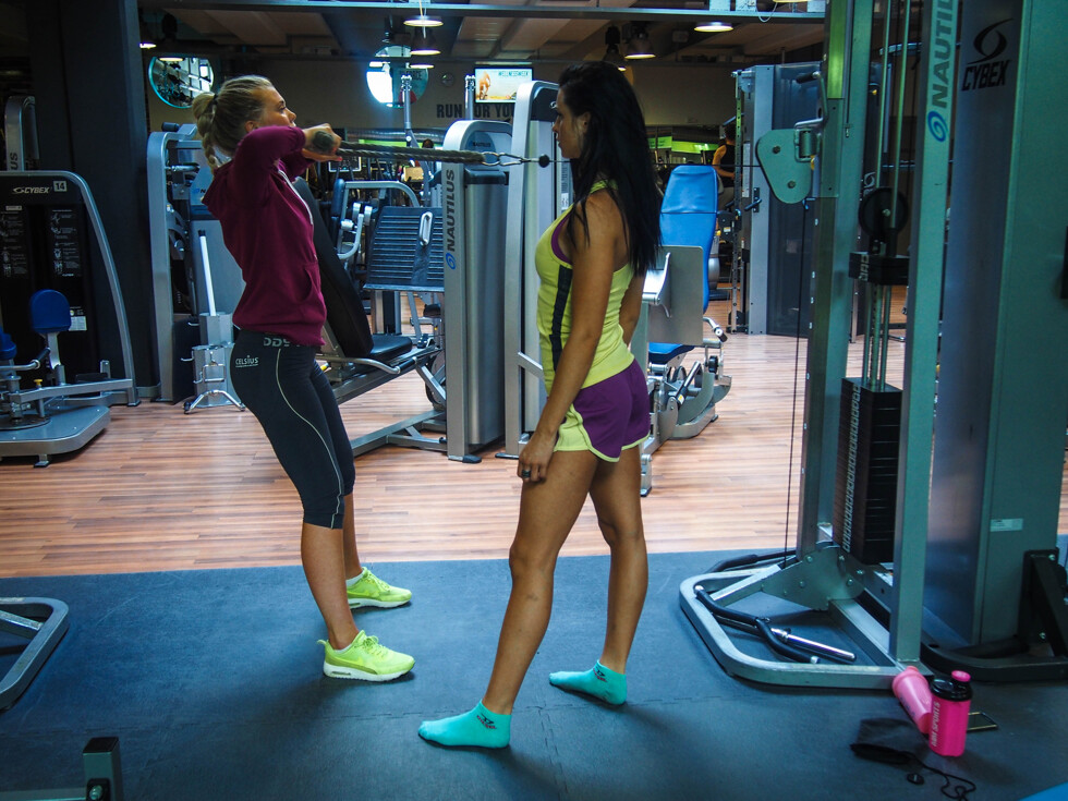 personlig träning lära hälsa gym fitness