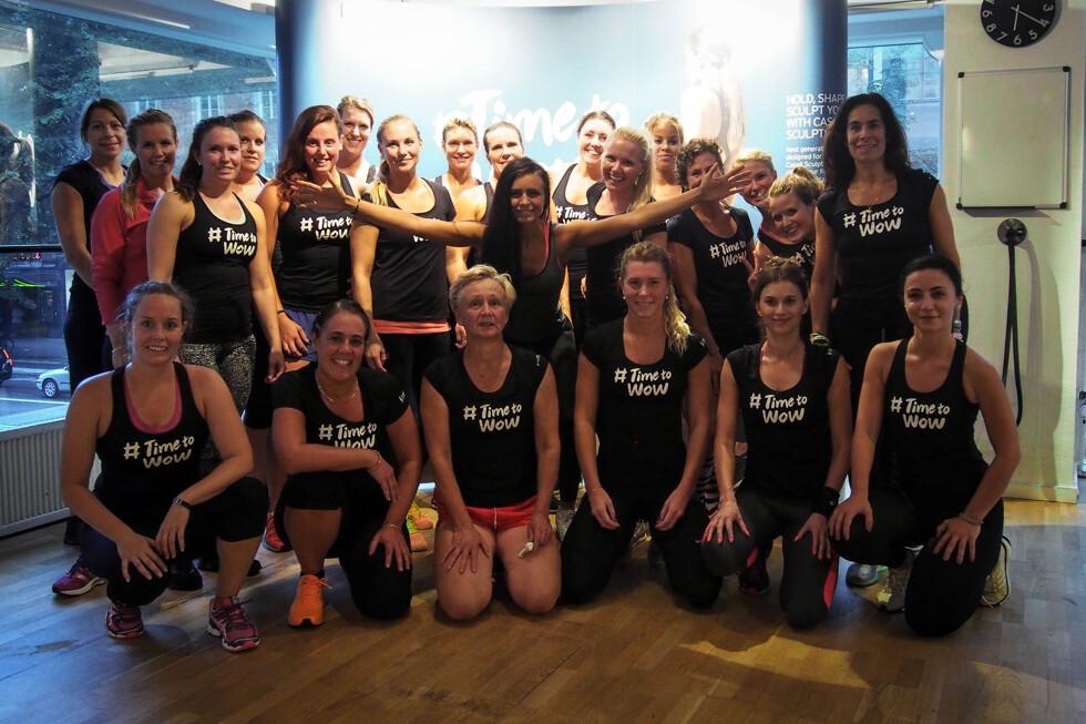 grupp träning casall glädje hälsa