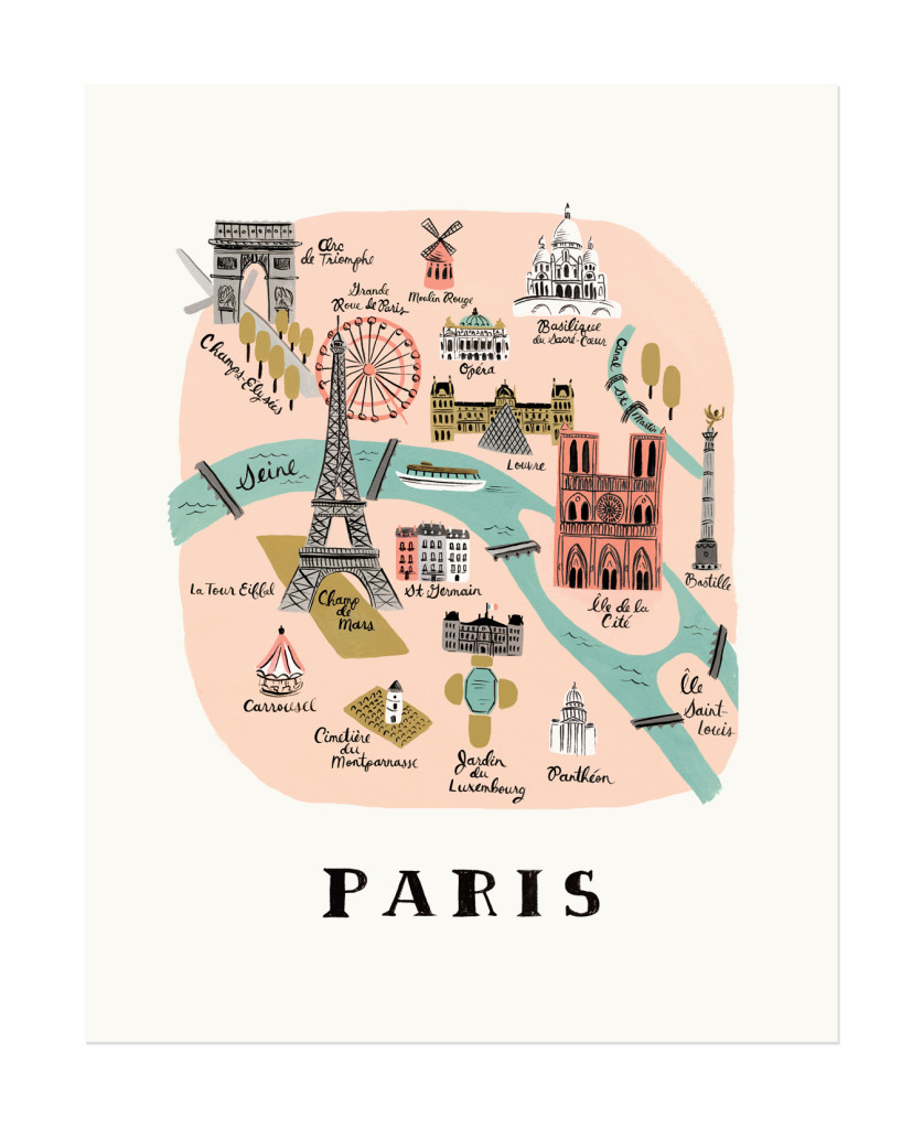 Rifle Paper Paris print