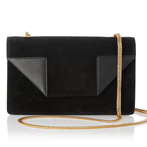 YSL_Black_Suede_Betty_Shoulder_Bag_Designer_Handbags
