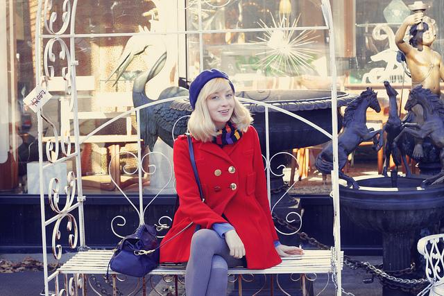 söndag. Sandra Beijer Metro Mode
