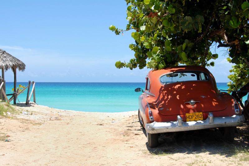 Stranden-Cuba