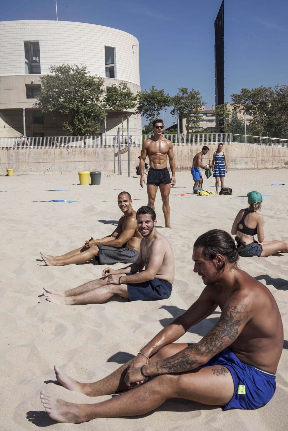 BCN Beach träning