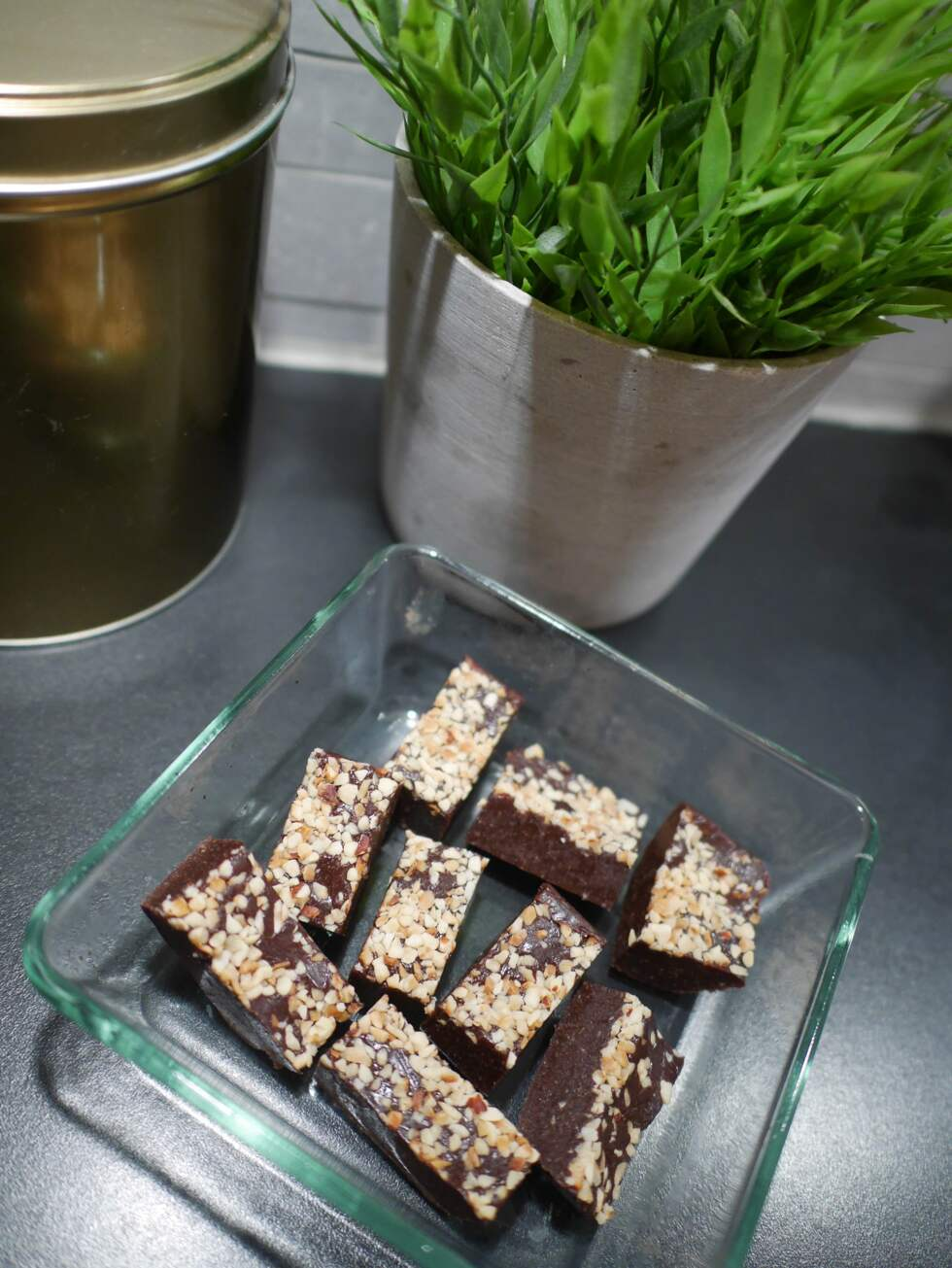 nyttig RAW brownie