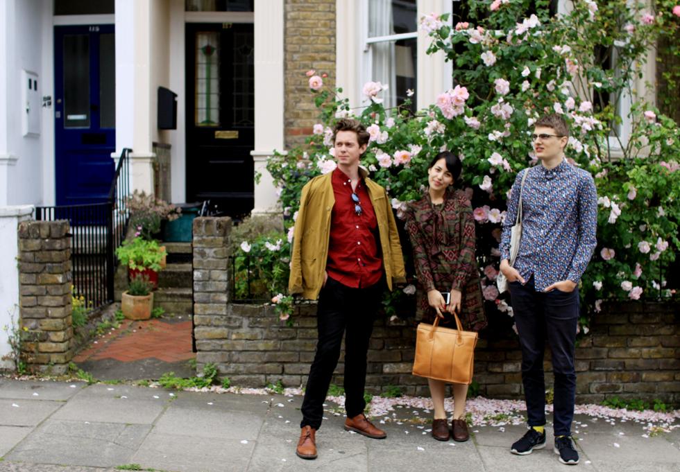 Anton, Sophie och Johan