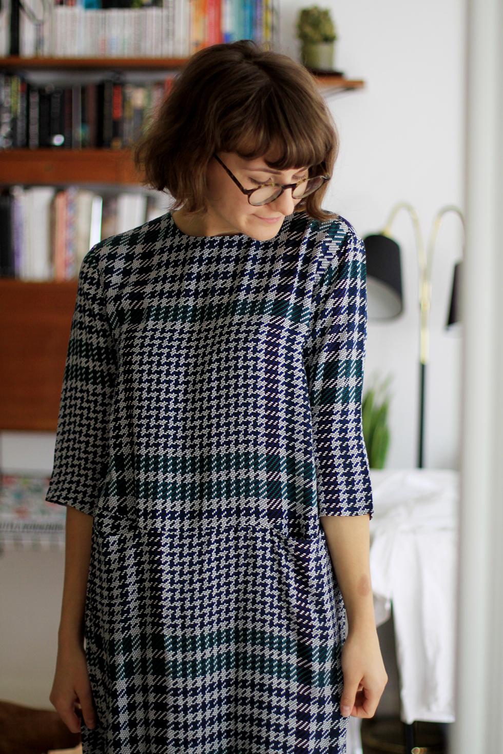 en ny klänning