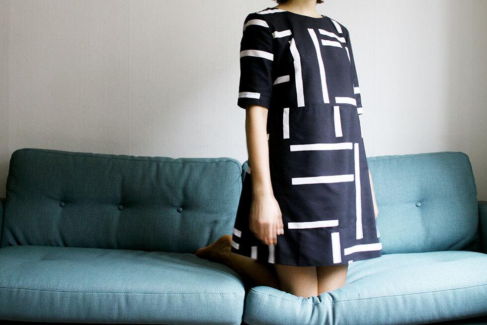 klänning - sara edström