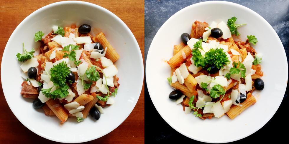 ett tomatbud + recept