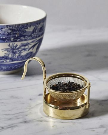 Tea Strainer Gold