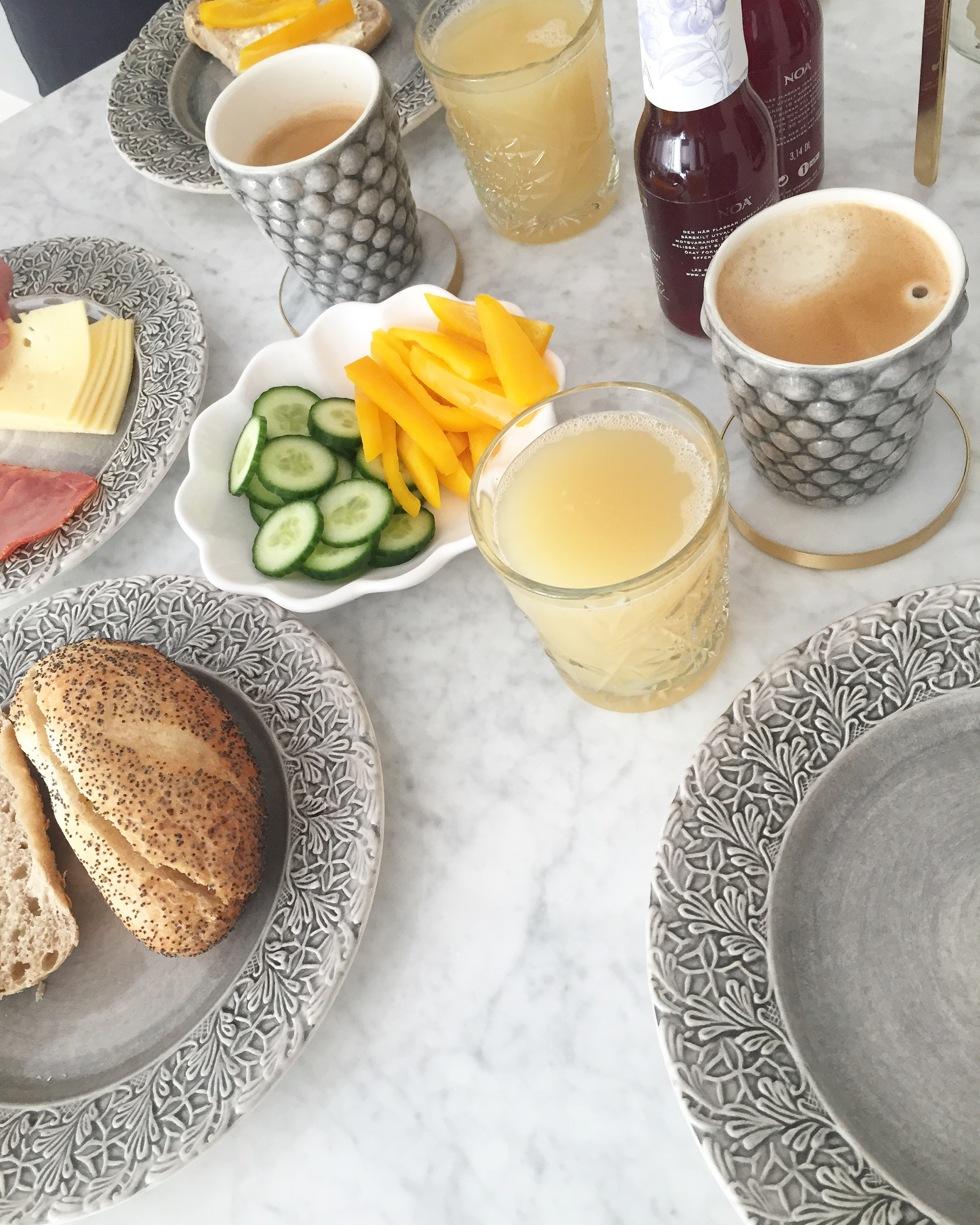 Nya Hemmet frukost