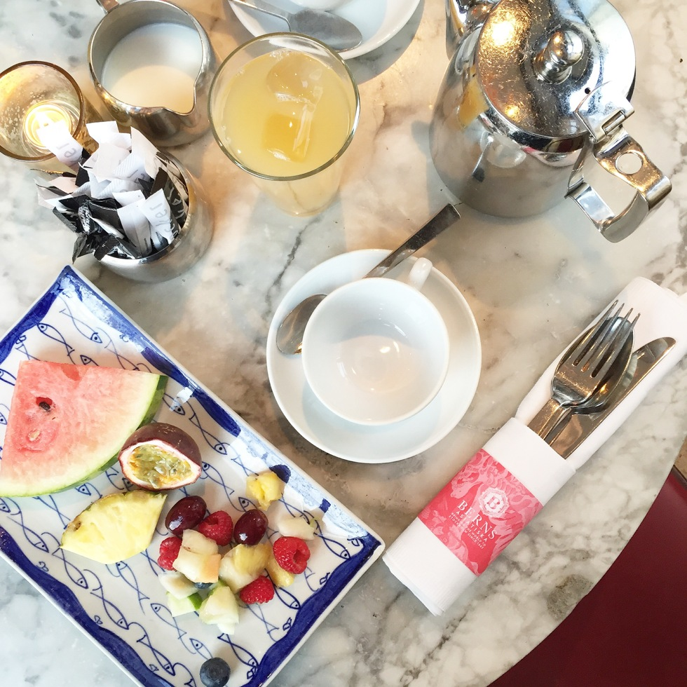 Berns Hotel Frukost