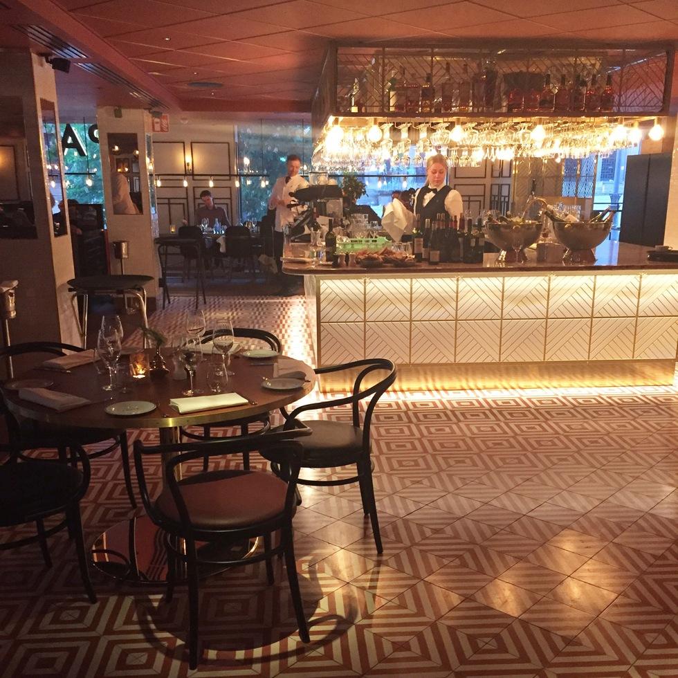 Middag Pauls Scandic Haymarket Hotell Restaurang Stockholm Hötorget