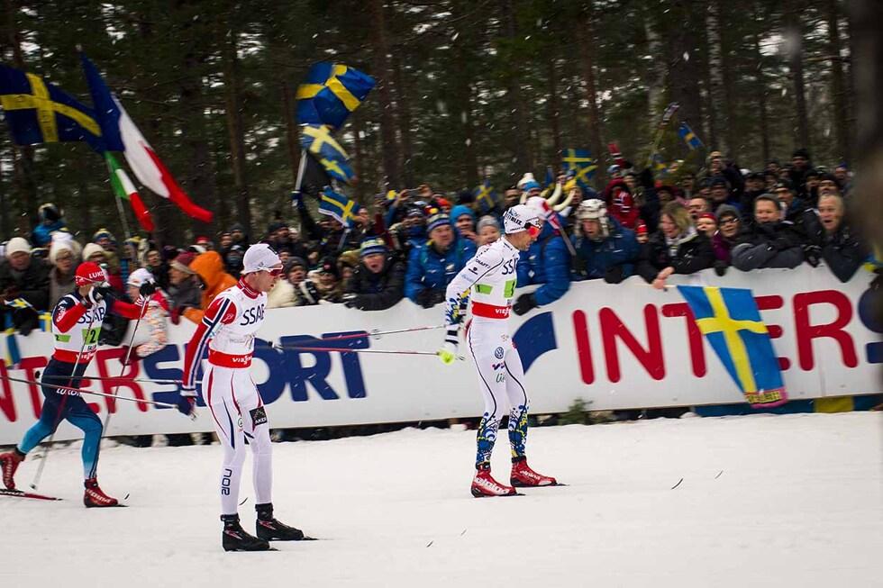 Johan Olsson VM i Falun Mördarbacken