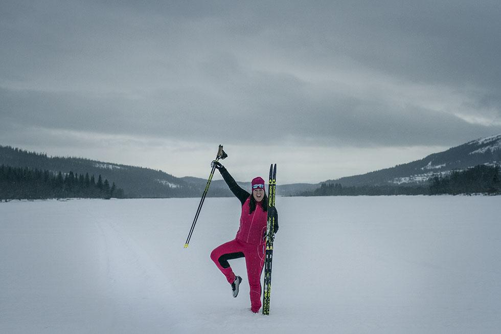 längdspår Åresjön