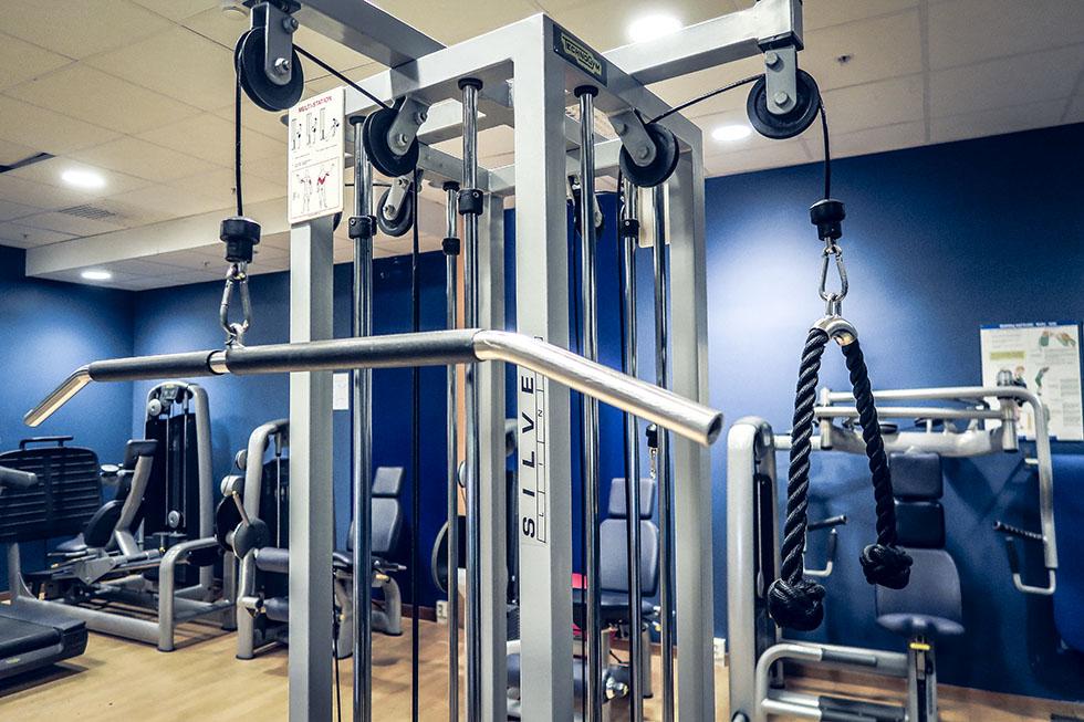 Holiday Club gym Åre hotellgym
