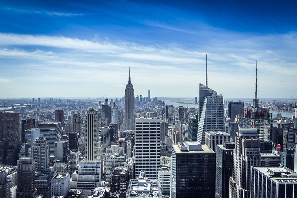Rockefeller Center Top of the rocks