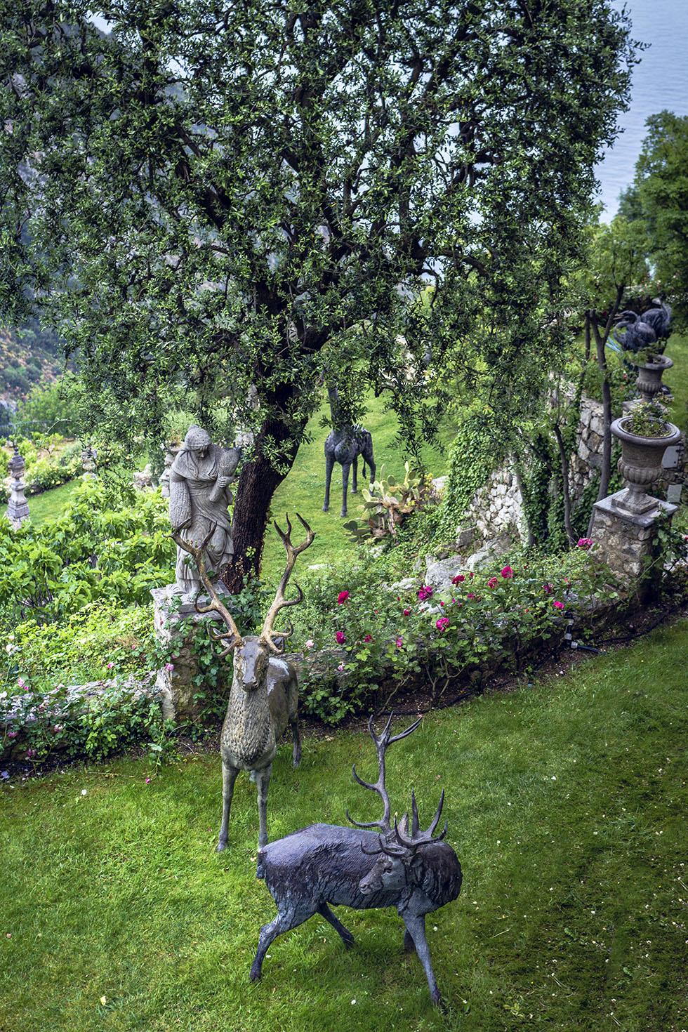 Chateau De La Chevre D'Or jardin IMG_6815